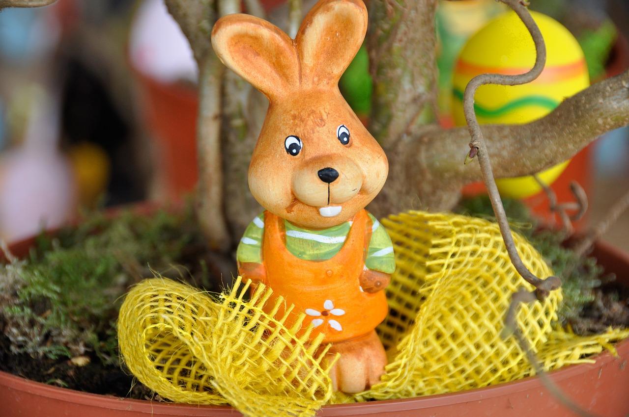 Velikonoční dekorace vtipně a nápaditě