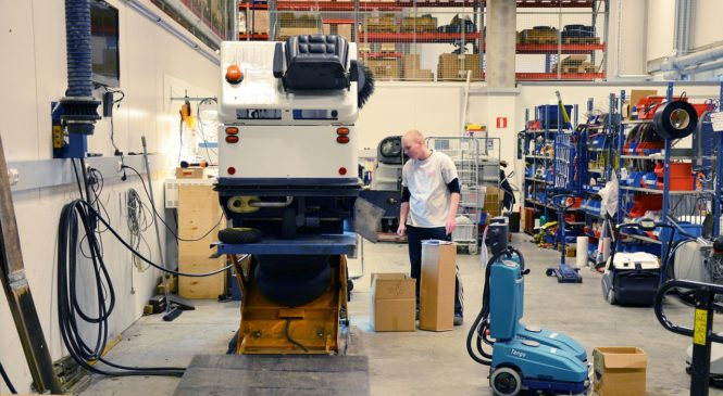 Dílenský vozík: Zrychlení a zefektivnění práce