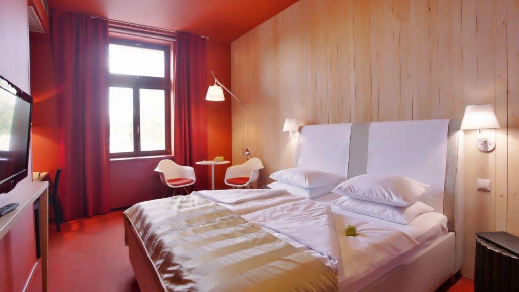 Absolutum Hotel v Holešovicích