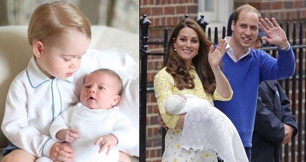 Třetí potomek Kate a Williama bude Alice, věří bookmakeři Chance