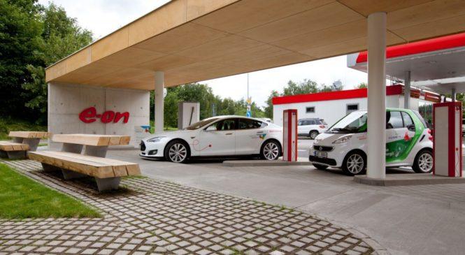 E.ON podporuje rozvoj elektromobility, cestujte pohodlně elektromobilem klidně z ČR do Dánska