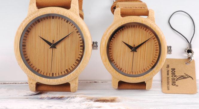Dřevěné hodinky jako základ vašeho outfitu