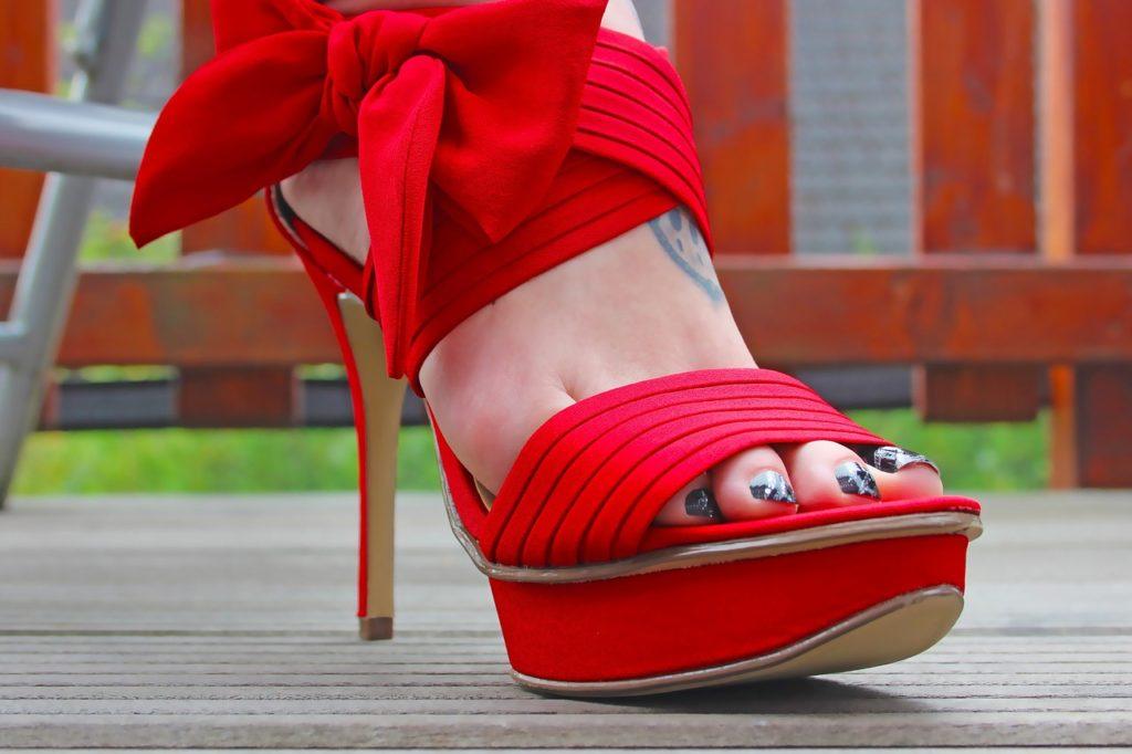 Boty na vysokém podpadku