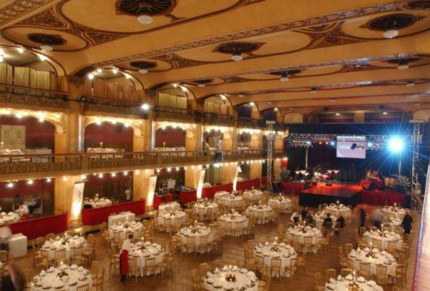 Palác Lucerna - velký sál