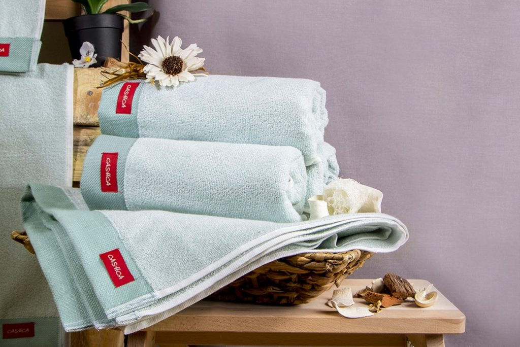 Froté ručník ANNIE - peprmintová 50x90 cm, foto: RodinneBaleni.cz