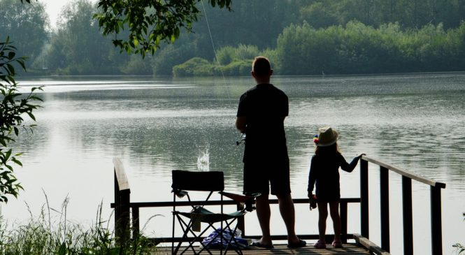 Rybářské potřeby cestují všude snámi