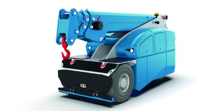 Autojeřáb, nebo pásový stavební jeřáb? Obojí!