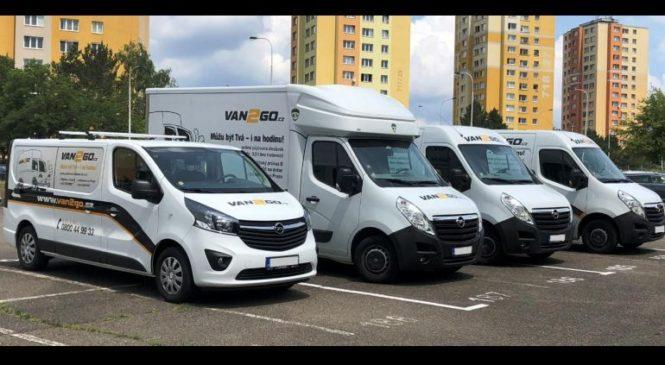 Půjčovna dodávek v Praze – zkuste kteroukoliv ze třech poboček